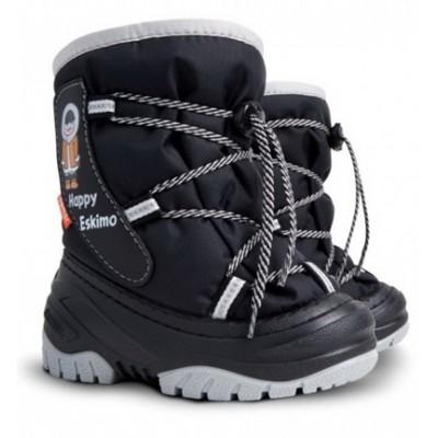 Сапоги Demar Happy Eskimo c (черные)