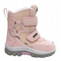Термоботинки American club RL22/21 Pink, сапоги на мембране