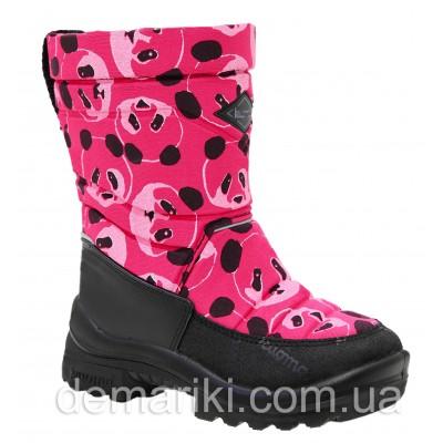 Сапоги Kuoma Putkivarsi Pinkki Panda 130337-3701 Pink Panda 20-26р