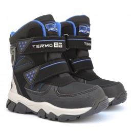 Термоботинки B&G ZTE21-2/01 синие, сапоги на мембране