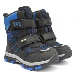 Термоботинки Tom M 3668b Blue, зимние детские сапоги на мальчика