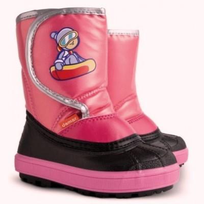Сапоги Demar Snowboarder a (розовые) 1505 a