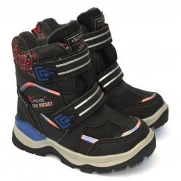 Термоботинки Tom M 5706a-black, зимние детские сапоги