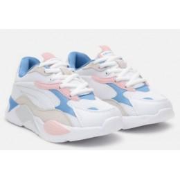 Кроссовки American Club ES19/21 White/Blue/Pink