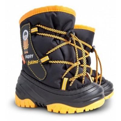 Сапоги Demar Happy Eskimo d (черно-желтые)