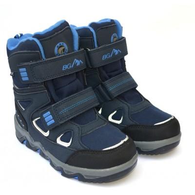 Термоботинки B&G EVS196-114 темно-синий, сапоги на мембране