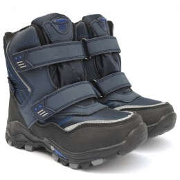 Термоботинки Tom M 3674b Blue, зимние детские сапоги на мальчика