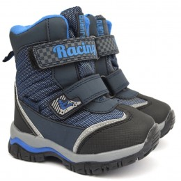 Термоботинки Tom M 3982b Blue, зимние детские сапоги на мальчика