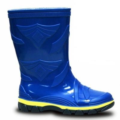 Резиновые сапоги LITMA, Веселка. Синие не утепленные.